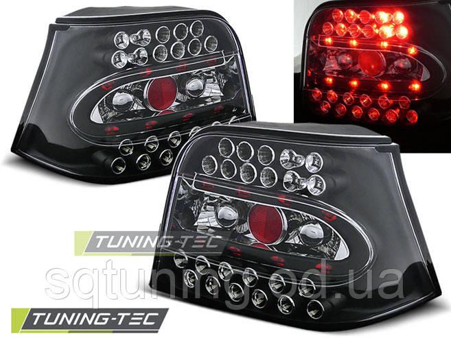 Задние фонари VW GOLF 4 09.97-09.03 BLACK LED
