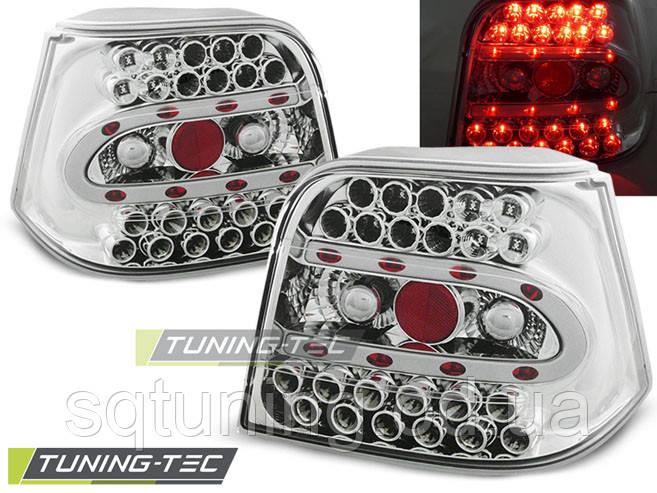 Задние фонари VW GOLF 4 09.97-09.03 CHROME LED