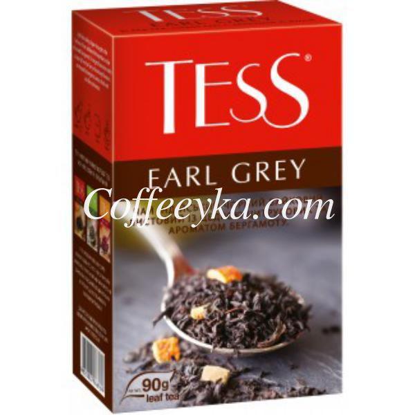 Чай чёрный Tess Earl Grey 90 г