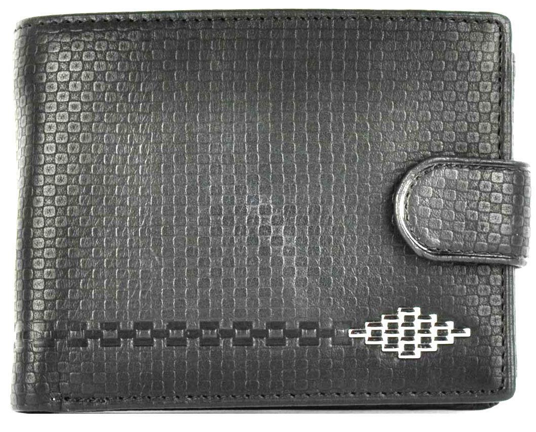 Кошелёк кожаный BALISA 152-121-91 Черный
