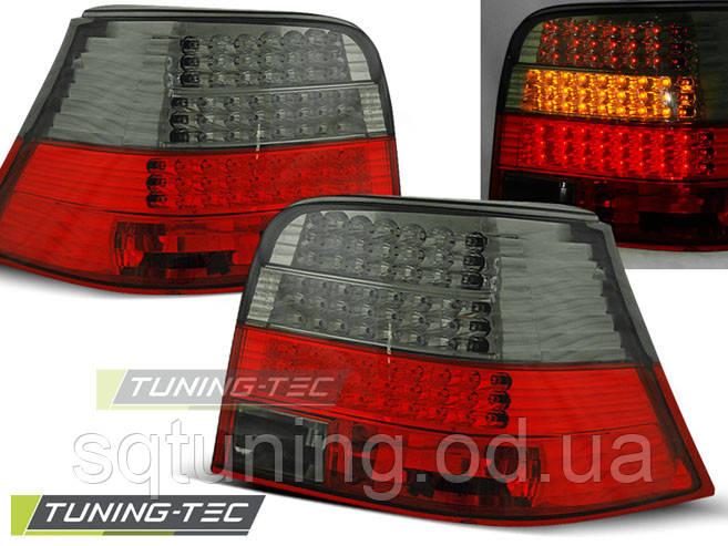 Задние фонари VW GOLF 4 09.97-09.03 RED SMOKE LED
