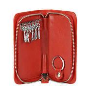 Чехол для ключей кожаный ENBERY 251 Красная