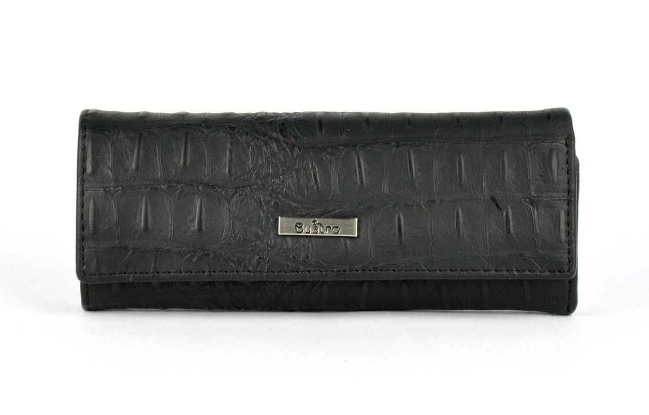 Чехол для ключей кожаный BUATRO 2023-1 Черная