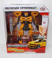 Трансформер H 602/8108 Праймбот, робот-машинка, коробка, 27-22-10 см