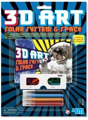 Набор для творчества 4M 3D art Мир космоса 3637