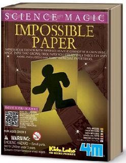 Игра 4M магическая наука Невероятная бумага 6704