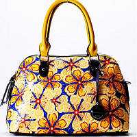 Женская сумка Velina Fabbiano желтая