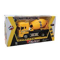 Игрушка грузовик-бетономешалка на р/у , фото 1