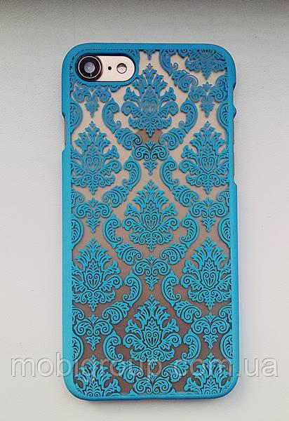 Пластиковый чехол Vintage iPhone 7, Кружево