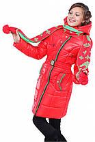 Красивая зимняя куртка для двочки, фото 3