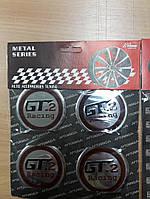 Наклейки на ковпачки, заглушки, наклейки на диски 60 мм GT2