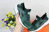 Женские кроссовки Nike Huarache, Найк Хураче (зеленый), Реплика