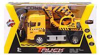 Игрушка грузовик с краном на р/у , фото 1