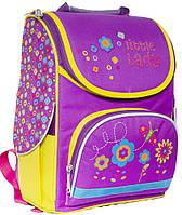 Рюкзак (ранец) 1 Вересня школьный каркасный 551936 Маленькая леди 2532 25*34*12см