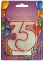 Свеча для торта Хобби SV-002-35 Юбилейная 35