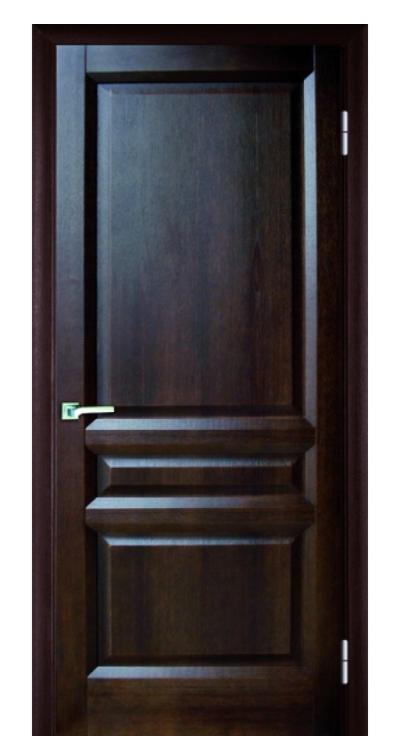 Межкомнатные двери МАКСИМА 3 ПГ ТЕМНЫЙ ОРЕХ