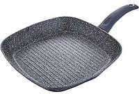 Сковорода-гриль Bergner ORION 28х28см индукционная с антипригарным покрытием