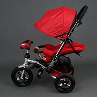 Велосипед-коляска Best Trike 698 с опускающейся спинкой (красный)
