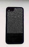 Чехол - накладка Кожа и Ткань iPhone 7