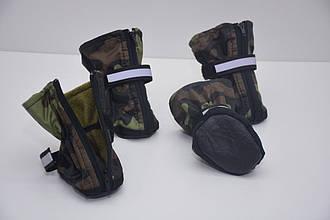 Ботиночки Камуфляж для котов и собак