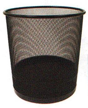 Корзина для бумаг Металл Сетка BRASSER h-35см JS-5001
