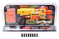 Автомат з паралоновими кулями  (батар., світ. ефект. коробка) 7015Y р.34*8,5*20,5см
