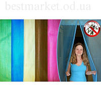 Магнитные Шторы Цветные - Однотонные Magic Mesh Меджик Меш Москитная Сетка, фото 1