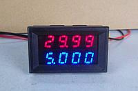 Вольтметр / Амперметр 0.01-200V 10A / 50A (4-знака) Высокая точность !, фото 1