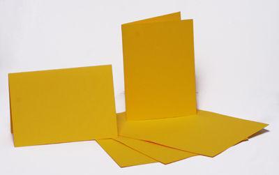 Набор заготовок для открыток 5шт 10,3*7см №2 Желтый 220г/м Margo 94099001