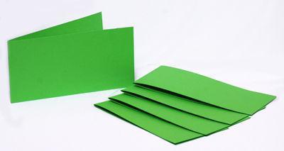 Набор заготовок для открыток 5шт 15,5*15,5см №3 салатовий 220г/м Margo 94099013