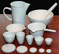 Фарфоровая лабораторная посуда