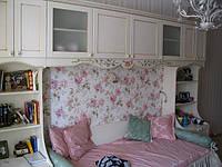 Детская комната для девочек. Фасады массив