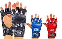 Перчатки для смешанных единоборств Elast 3207, 3 цвета: размер S-XL, PU