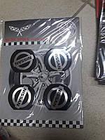 Наклейки на ковпачки, заглушки, наклейки на диски 60 мм Nissan Ніссан