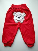 Красные штанишки для мальчика