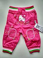 Летние штаны на девочку Kitty , фото 1