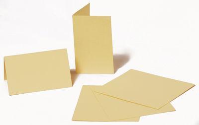 Набор заготовок для открыток 5шт 21х10,5смсм №1 бежевый 220г/м Margo 94099041