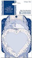 Набор высечек из бумаги Docrafts 18л Parisienne Blue PMА157218