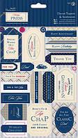 Набор высечек из бумаги Docrafts 2л Heritage Press PMА157229