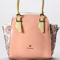 Женская сумка Velina Fabbiano розового цвета