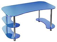Стол стеклянный офисный С-3 (Эскадо/Escado) 1650х900х760мм