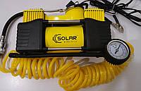 Автокомпресор SOLAR AR208, 2х поршневий, 10Amp/85л.