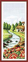 Набор для вышивания Идейка 20*36см Весенний пейзаж F067