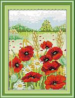 Набор для вышивания Идейка 26*32см Весна в горах H238