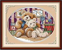 Набор для вышивания Идейка 39*31см Медвежонок K175