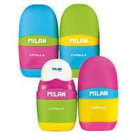 Ластик-резинка с точилкой Milan Capsule mix 4701236
