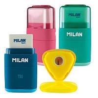 Ластик-резинка с точилкой Milan Tri ml.4700116