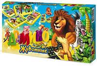 Игра DankoToys DT G43C1 Домино детское - Животные