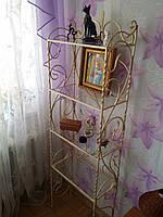 Кованая полка этажерка арт.км №19
