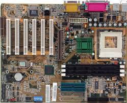 Материнская плата ABIT ST6 + процессор + кулер, s370